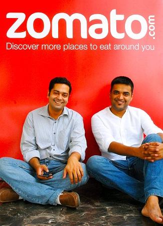 Zomato Founders Deepinder Goyal and Pankaj Chadda